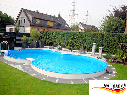 Sehr Achtformpools | Achtform-Pools | Achtform-Swimmingpool Germany-Pools OC89