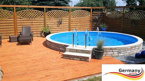 Pool gestaltung pool bilder schwimmbad gestaltung for Aufbau stahlwandpool