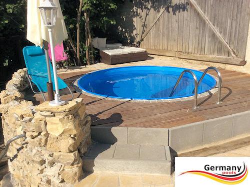 Pool gestaltung pool bilder schwimmbad gestaltung for Schwimmbad stahlwandbecken