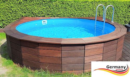 Pool gestaltung pool bilder schwimmbad gestaltung - Holzpool aufbau ...