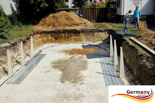 Montage Pool Anleitung