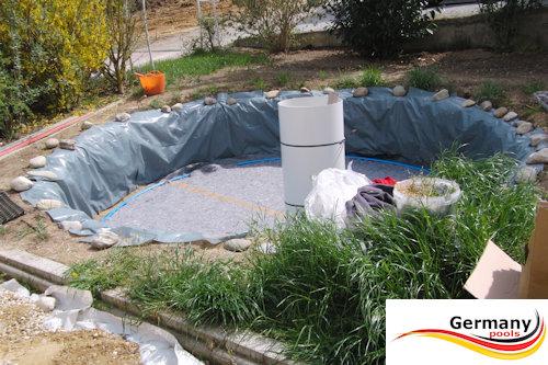 Stahlwandpool gestaltung  Stahlwandpool-Aufbauanleitung | Stahlwandbecken-Montage | Aufbau ...