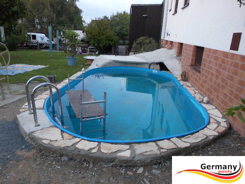 Germany pools aufbauanleitung schwimmbad und saunen for Aufbauanleitung pool stahlwand