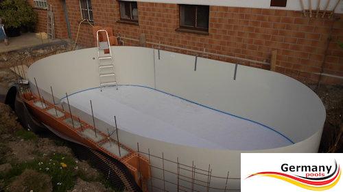 Ovalpool aufbauanleitung ovalbecken montage aufbau for Innenfolie stahlwandbecken