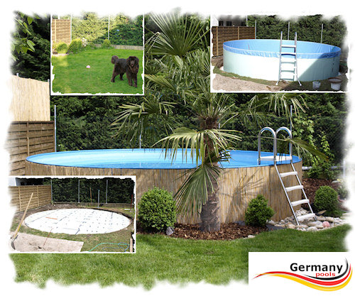 poolaufbau schwimmbadbau pool montage schwimmbeckenbau swimmingpoolbau germany pools. Black Bedroom Furniture Sets. Home Design Ideas