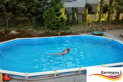 Top Schwimmbecken-Aufbauanleitung | Swimmingpool-Montage | Aufbau YI02